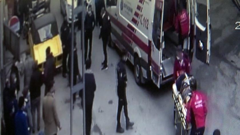 Arnavutköy'de evli kadınla basılan adam camdan atladı