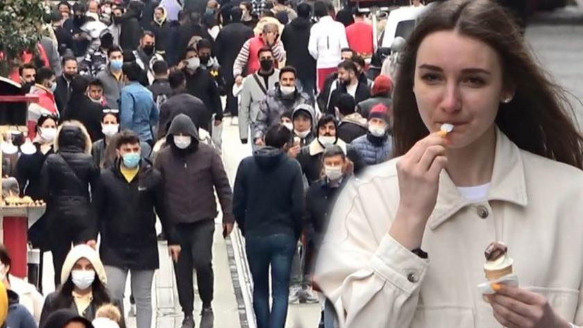 Hafta sonu sokağa çıkma yasağında Taksim'den şok görüntüler