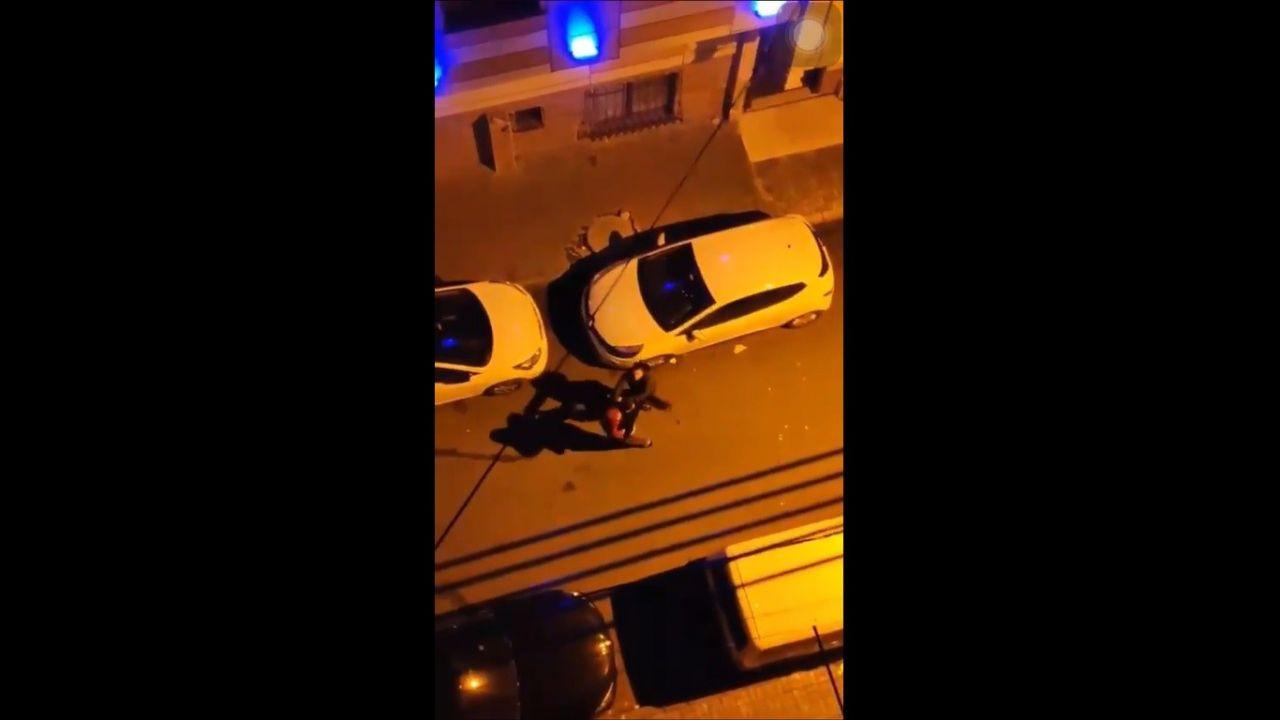 Küçükçekmece'de sokak ortasında kadına şiddet! Darp edildiği anlar kamerada! video izle - Sayfa 2