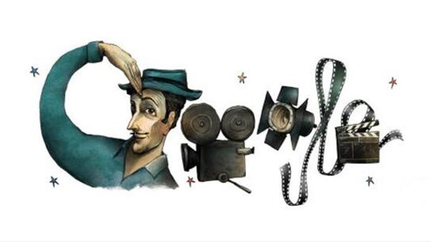 Google Sadri Alışık'ı 96. doğum gününde doodle yaptı!