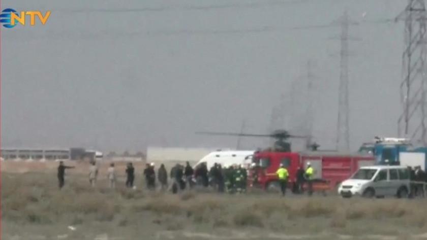Konya'da askeri eğitim uçağı düştü! 1 pilot şehit oldu