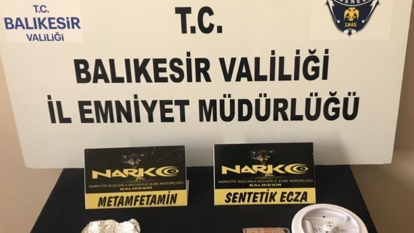 Balıkesir'de polisten 31 şahsa huzur operasyonu