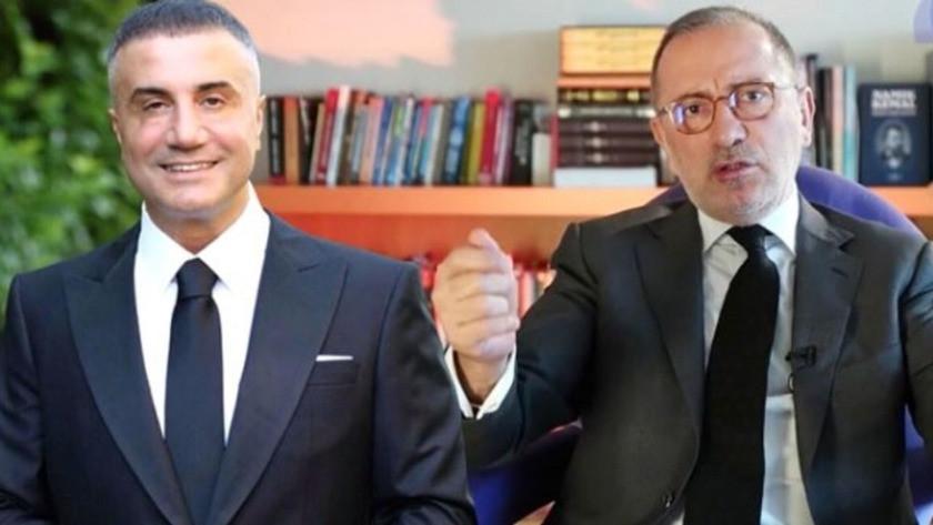Fatih Altaylı'dan Sedat Peker'e olay sözler