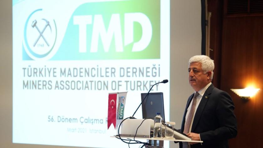 Türkiye Madenciler Derneği Başkanlığı'na Ali Emiroğlu yeniden seçildi