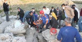 İnanılmaz olay! Yaşlı kadın sıkıştığı kayalıkta 3 gün sonra bulundu - Sayfa 1