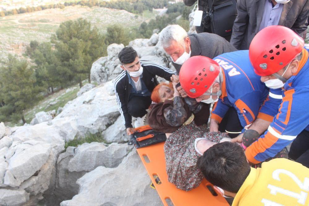 İnanılmaz olay! Yaşlı kadın sıkıştığı kayalıkta 3 gün sonra bulundu - Sayfa 4