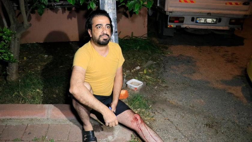 Konuşmak için yanına çağırdığı taksi şoförünü silahla bacağından vurdu