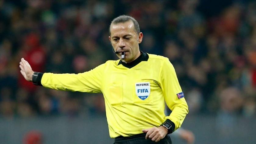 Cüneyt Çakır, EURO 2020'de görev alacak