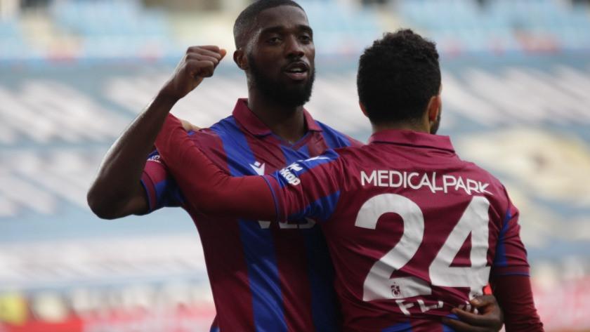 Trabzonspor Karagümrük maçın gollerini, geniş özeti ve maçtan kareler!