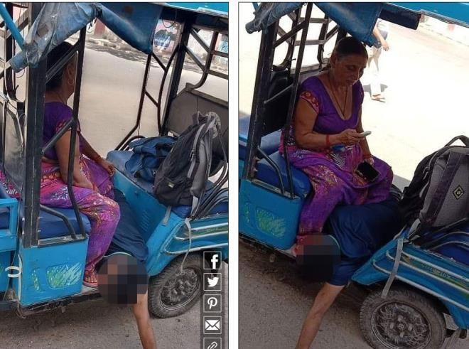 Hindistandan yürek yakan görüntüler! Anne, oğlunun cenazesini kendi taşıdı - Sayfa 2