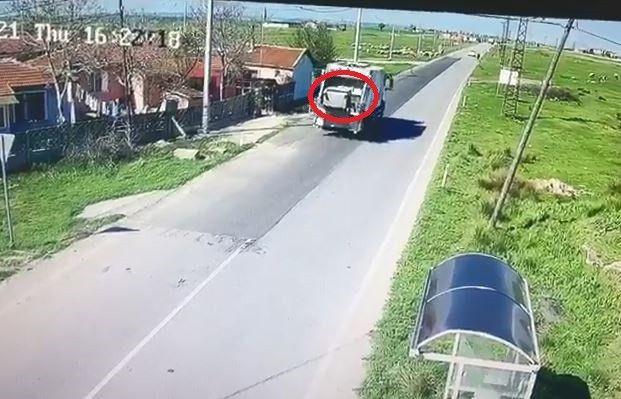 Çöple götürülen konteyner iki belediye arasında krize neden oldu! Olay anı saniye saniye kamerada! - Sayfa 1