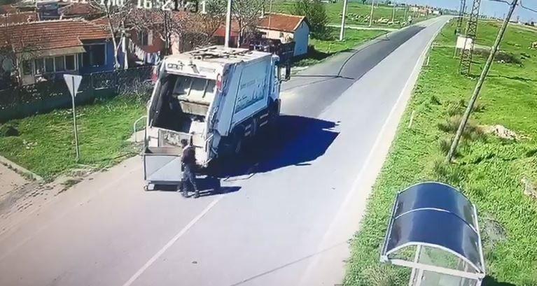 Çöple götürülen konteyner iki belediye arasında krize neden oldu! Olay anı saniye saniye kamerada! - Sayfa 4
