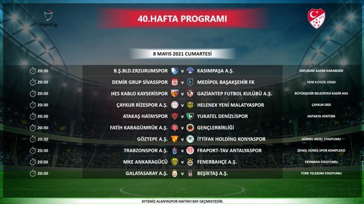 TFF, Süper Lig fikstürünü açıkladı! İşte Süper Lig'de 3 haftanın fikstürü - Sayfa 4