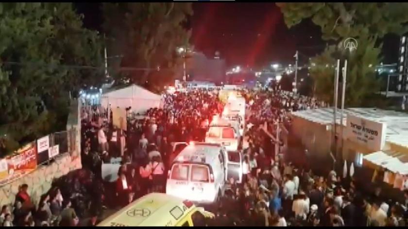 İsrail'de Lag B'Omer Bayramı kutlamalarında facia! Çok sayıda ölü ve yaralı var