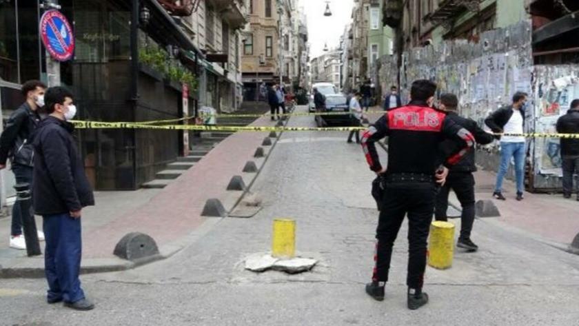 İstanbul'da silahlı çatışma, çocuğunu bırakıp kaçtı