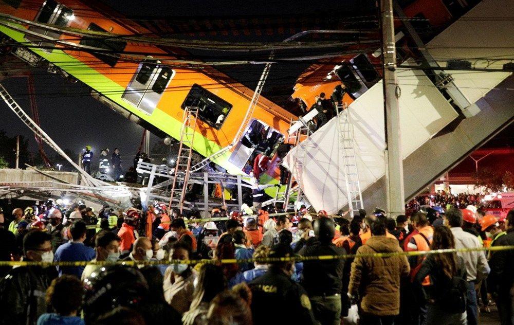 Meksika'da metro faciası: 15 kişi öldü, 70 kişi yaralandı - Sayfa 1