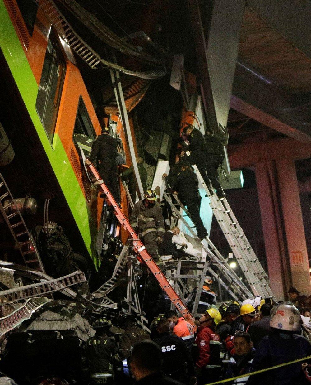 Meksika'da metro faciası: 15 kişi öldü, 70 kişi yaralandı - Sayfa 4