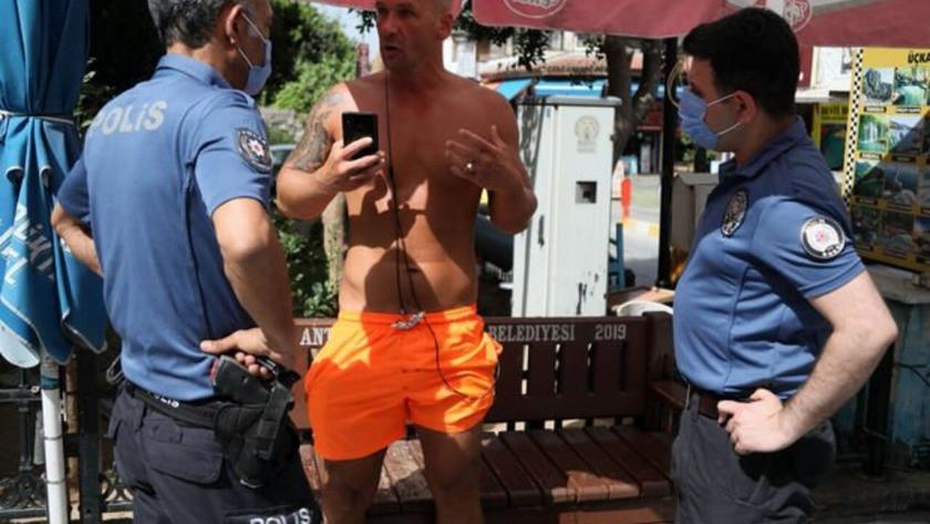 Kadın polise ahlaksız teklif! Tacizci turiste gözaltı