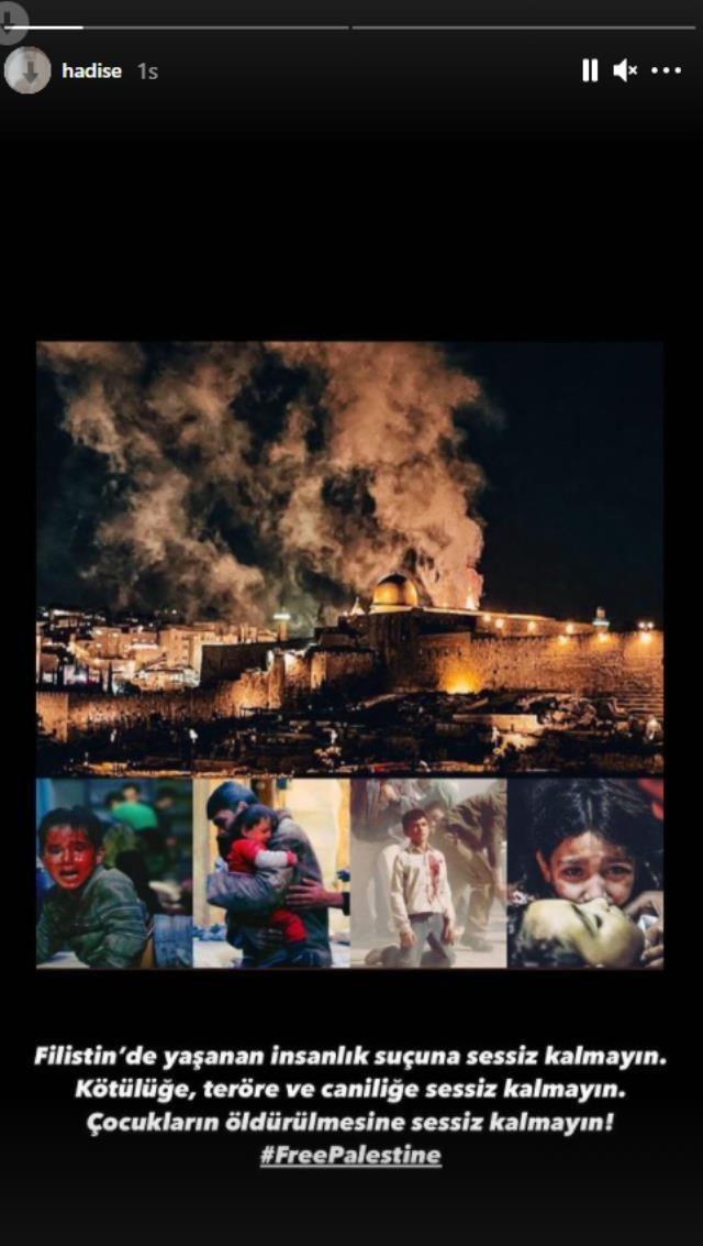Tek yürek oldular! İşte ünlüler'den İsrail polisinin Mescid-i Aksa'ya saldırısına tepkiler - Sayfa 1