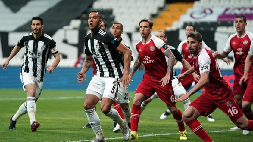 Beşiktaş- Fatih Karagümrük maçı muhteşem kareler