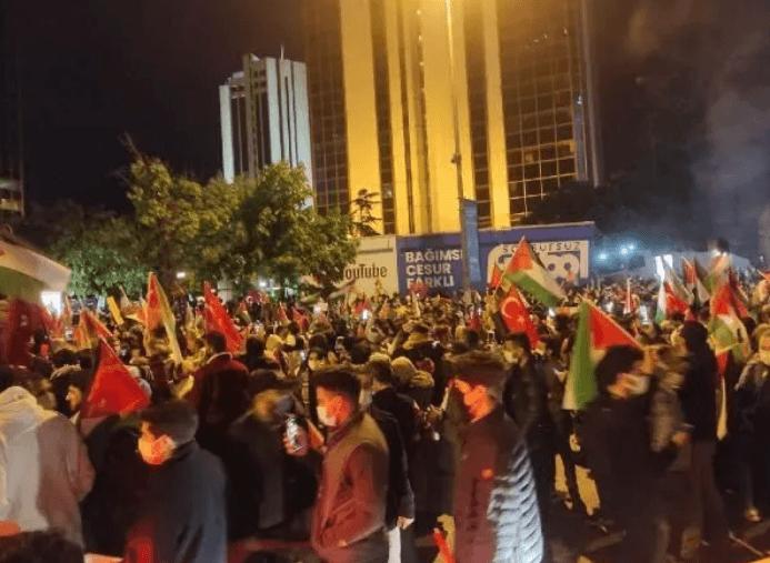 İsrail, Türkiye'de protesto edildi - Sayfa 1