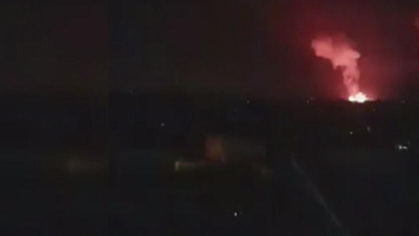 İsrail'in Gazze'ye kara ve hava saldırısı sürüyor! video