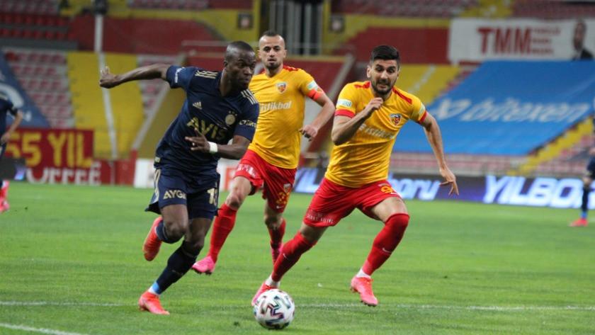 Kayserispor - Fenerbahçe Maç Özeti ve Golleri İzle