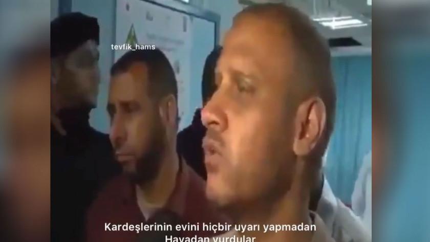 Filistinli babadan ağlatan sözler