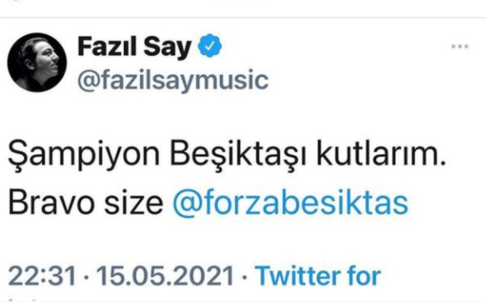 Beşiktaş'ın şampiyonluğu ünlüleri coşturdu! İşte paylaşımları... - Sayfa 2