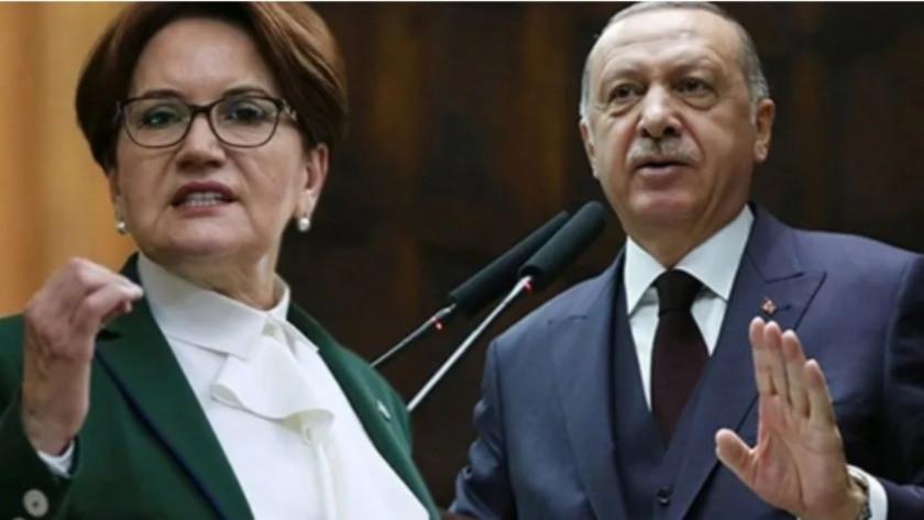 Cumhurbaşkanı Erdoğan'dan Meral Akşener'e tazminat davası