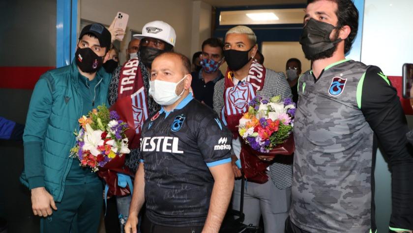 Trabzonspor, Gervinho ve Peres'i özel uçakla getirdi