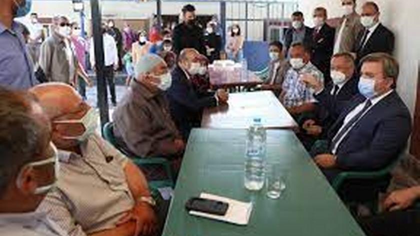 Aksaray Valisi 30 yıldır küs olan iki kardeşi barıştırdı