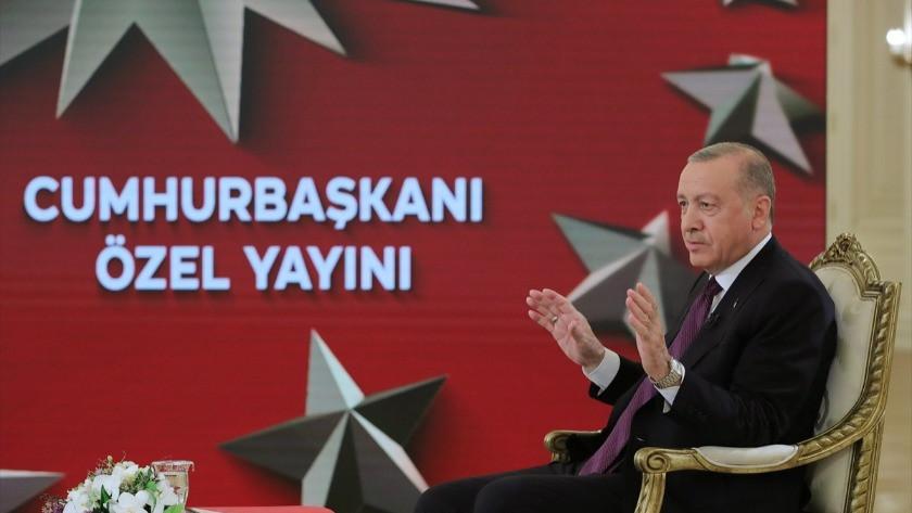 Erdoğan: Müjde için cuma gününü bekleyin