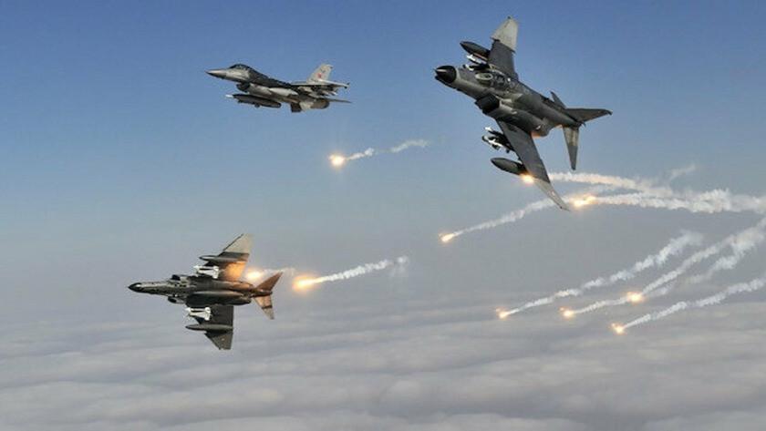 MSB:8 PKK'lı terörist hava operasyonu ile etkisiz hale getirildi