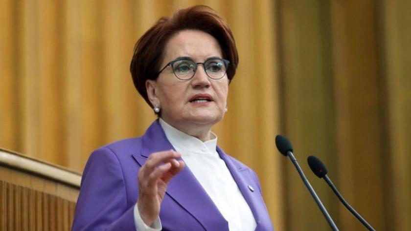İYİ Parti Genel Başkanı Meral Akşener'den Erdoğan'a sert tepki