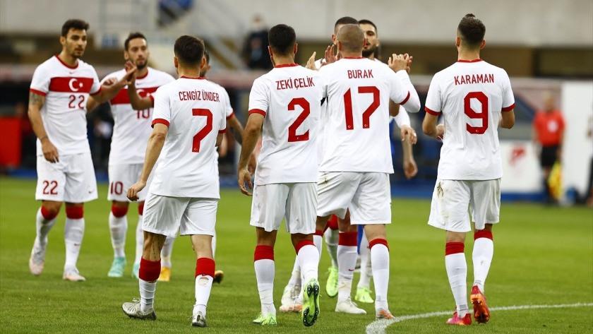 Milli Takım Moldova'yı 2-0'lık skorla mağlup etti