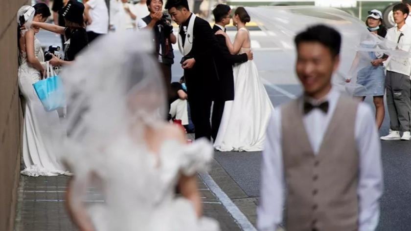 5 gün içinde 400 bin çift evlendi