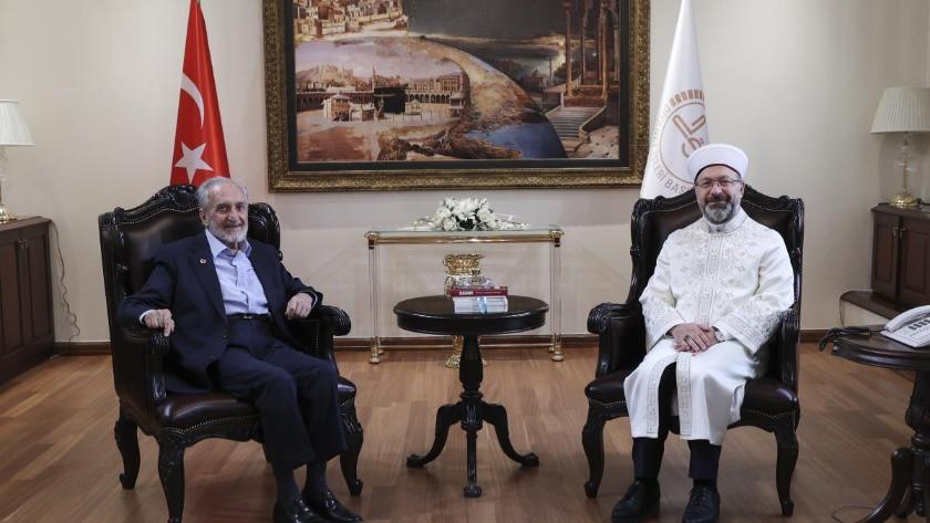Diyanet İşleri Başkanı Erbaş'a ziyaret