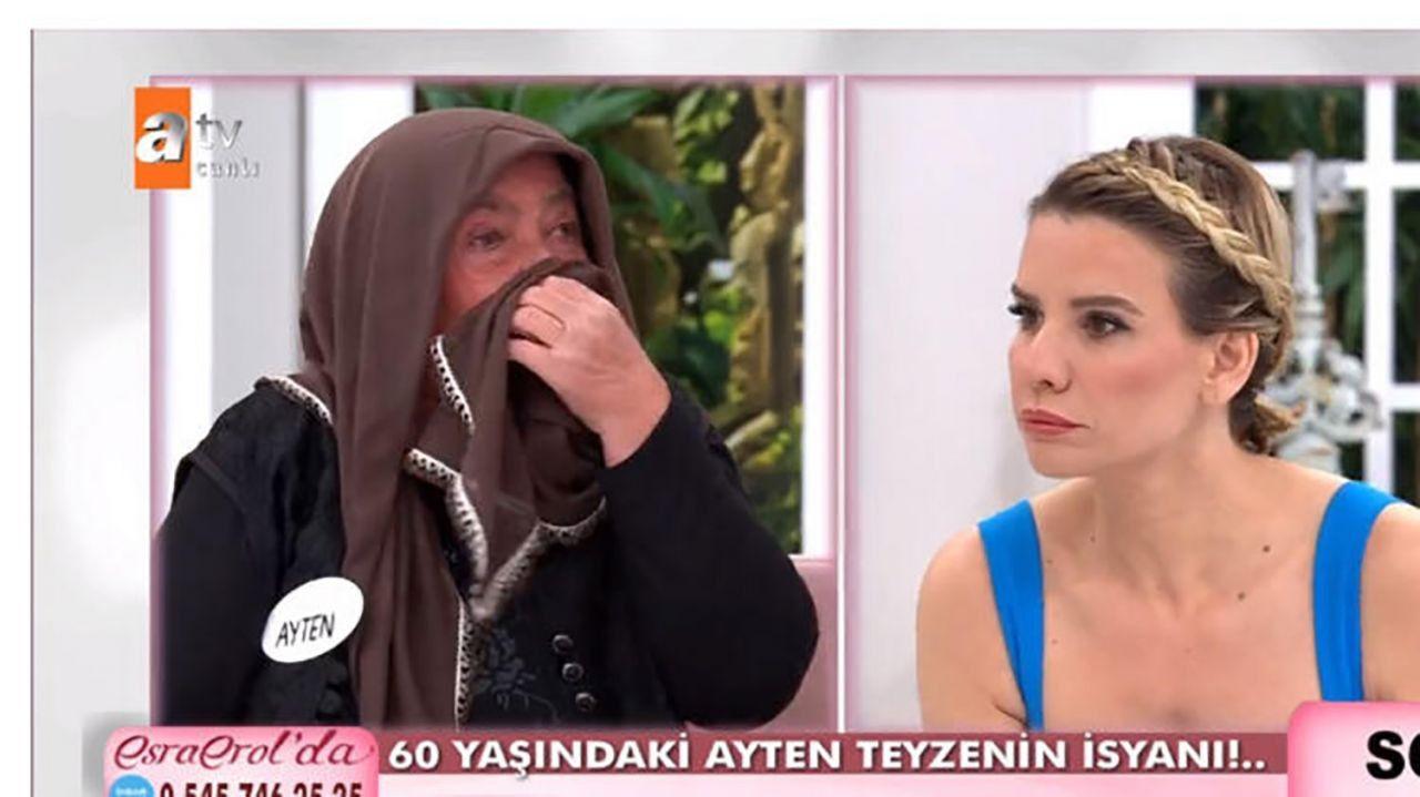 Esra  Erol'da 60 yaşındaki Ayten Teyze evden kaçan genç aşkı için canlı yayında gözyaşı döktü! - Sayfa 4