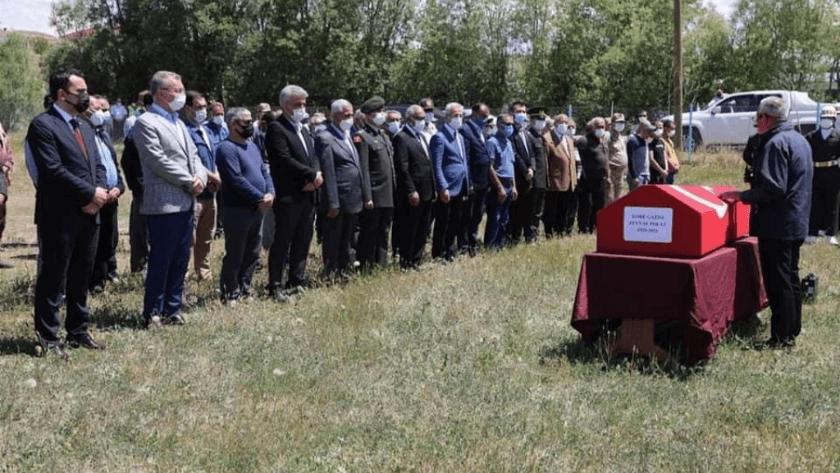 Kore Gazisi, 23 yıl önce kendisi için hazırladığı mezarlığa defnedildi