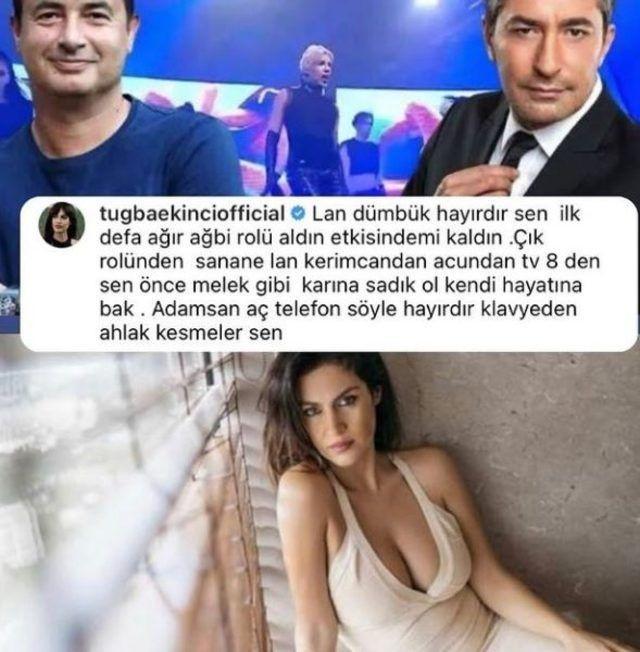 Tuğba Ekinci Erkan Petekkaya'ya sinirlendi, olay sözler söyledi! - Sayfa 4