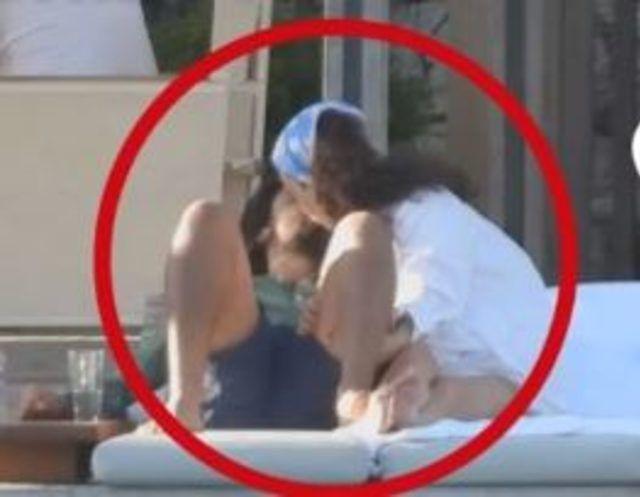 Melisa Şenolsun ve Umut Evirgen'i öpe öpe bitiremedi! - Sayfa 2
