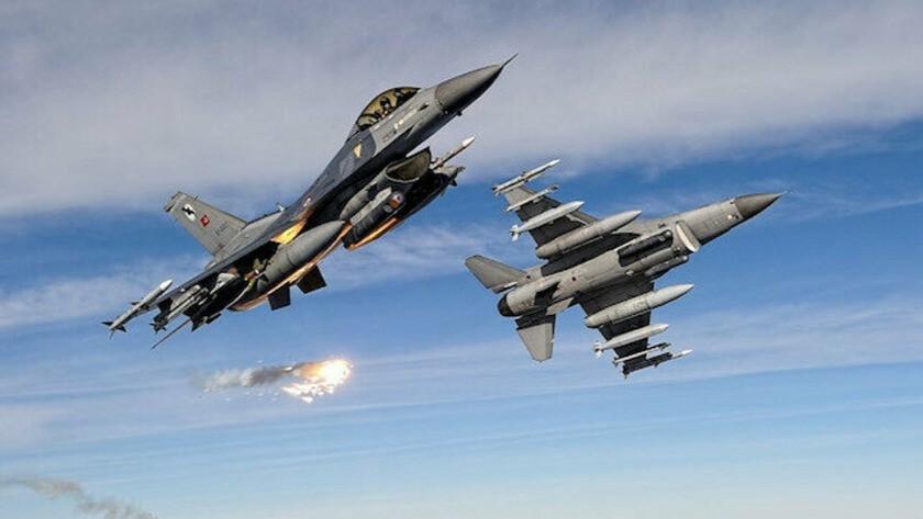 2 PKK'lı terörist hava harekatı ile etkisiz hale getirildİ