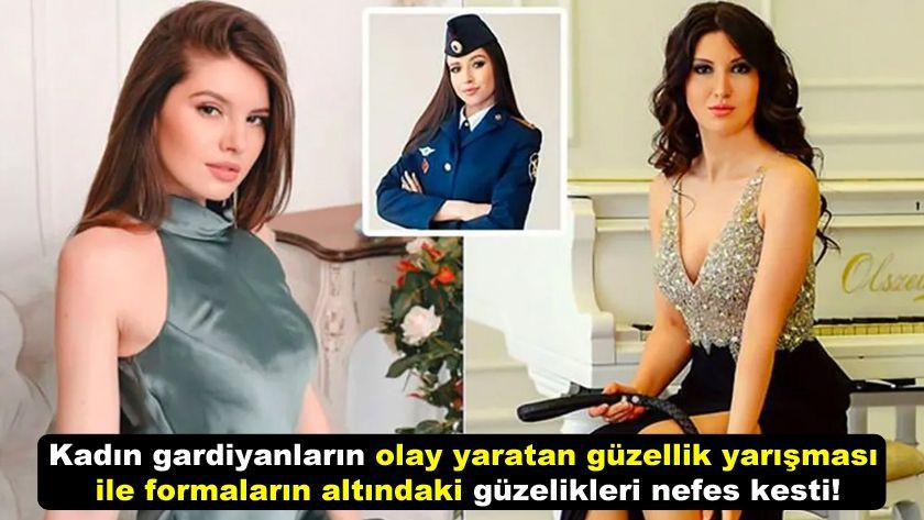 Kadın gardiyanların güzellik yarışması ile formaların altındaki güzelikleri nefes kesti! - Sayfa 1