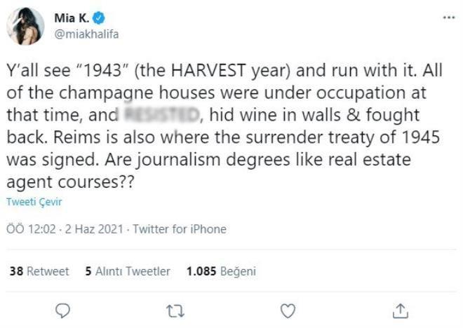 Cinsel içerikli film starlarından Mia Khalifa'nın attığı tweet ile  İsrail destekçilerini çıldırttı! - Sayfa 1