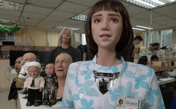 Koronavirüs hastaları için  robot hemşire geliştirildi! İşte hemşire Grace'sin görüntüleri... - Sayfa 1