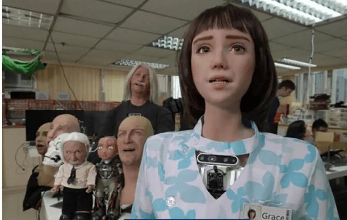 Koronavirüs hastaları için  robot hemşire geliştirildi! İşte hemşire Grace'sin görüntüleri... - Sayfa 4