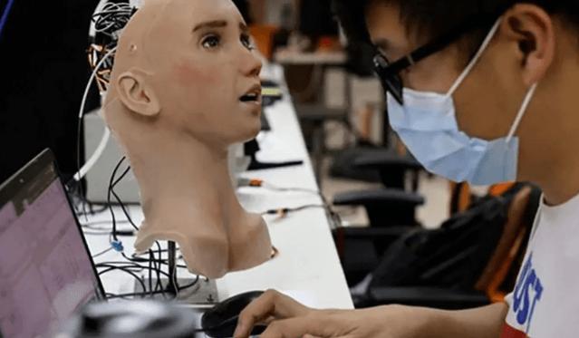 Koronavirüs hastaları için  robot hemşire geliştirildi! İşte hemşire Grace'sin görüntüleri... - Sayfa 3