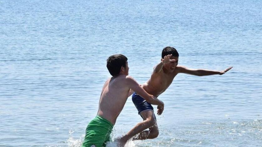 Çanakkale'nin Lapseki sahillerinde denize girmek yasaklandı