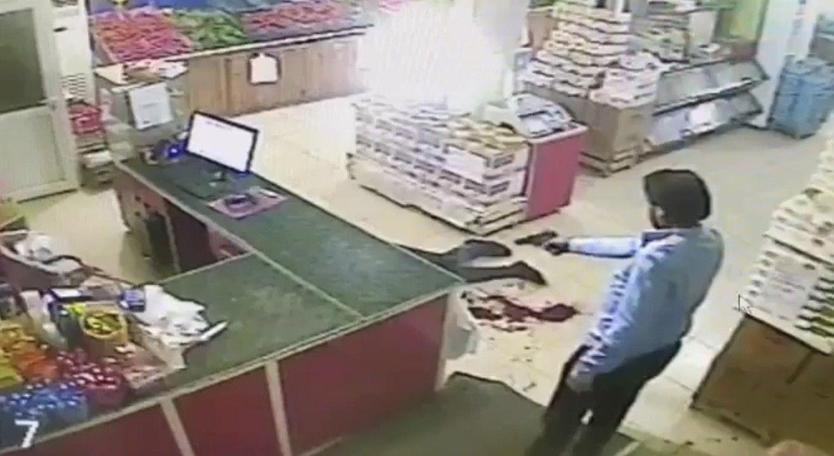 Market sahibinin öldüğü saldırıdaki dehşet anları güvenlik kamerasında - Sayfa 1
